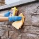 Как ухаживать за камнем и поверхностью из камня?
